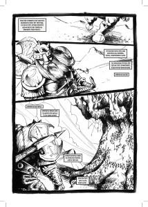Les Chroniques du Dragon Phénix - Omnibus. Extrait. (un clic pour agrandir)