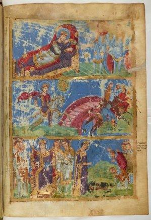 Grec 510, fol. 440, Invention de la Sainte Croix